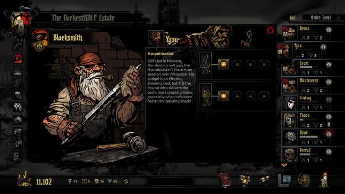 Darkest Dungeon on Switch - roguelikes