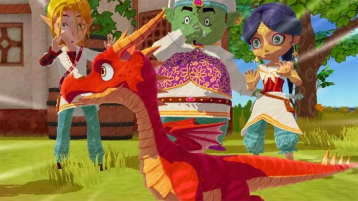 Little Dragon Cafe on Switch