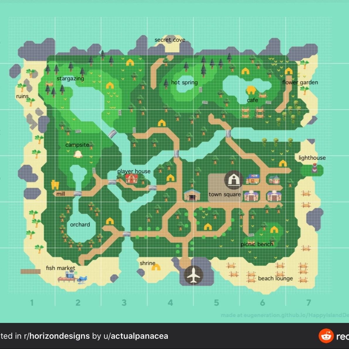 Animal Crossing Island Planner Resources Ninty Gamer