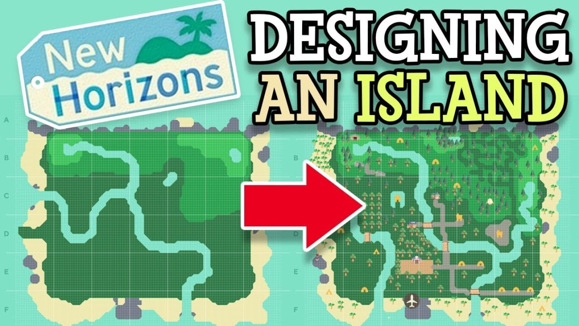 Animal Crossing island planner
