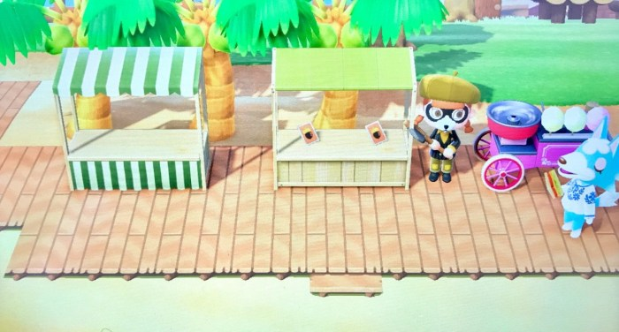 Animal Crossing boardwalk path