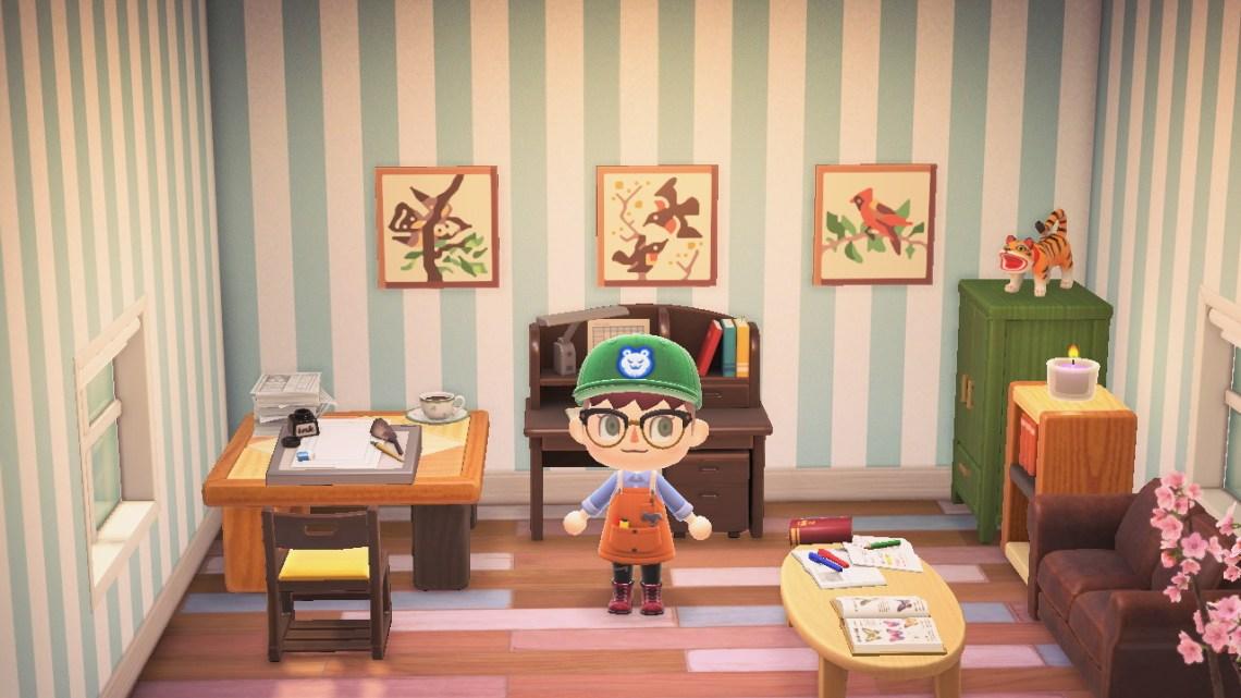 Animal Crossing paintings