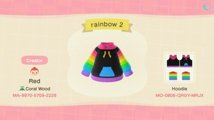 Animal Crossing lgbt hoodie