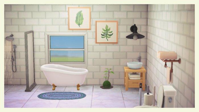 Animal Crossing art leaves