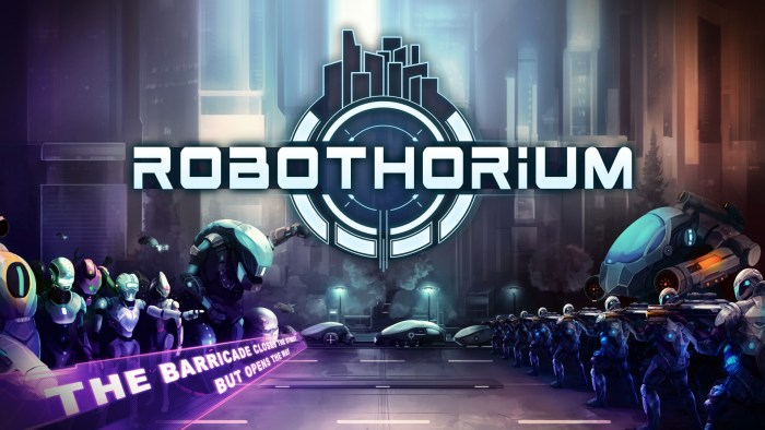 cyberpunk Switch games Robothorium
