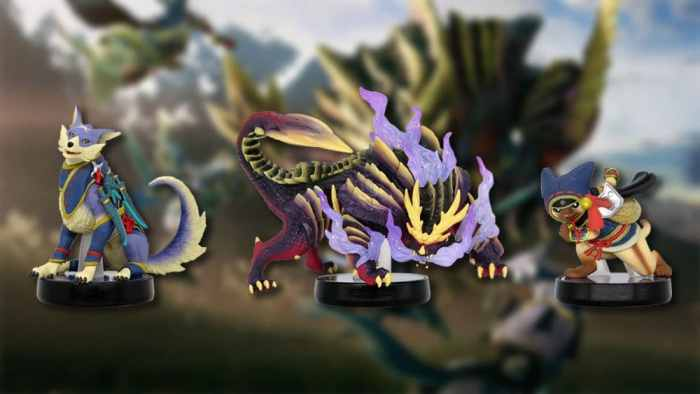 monster hunter amiibo