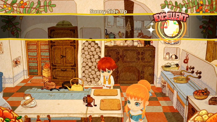 best cooking games on Switch – little dragon's cafe
