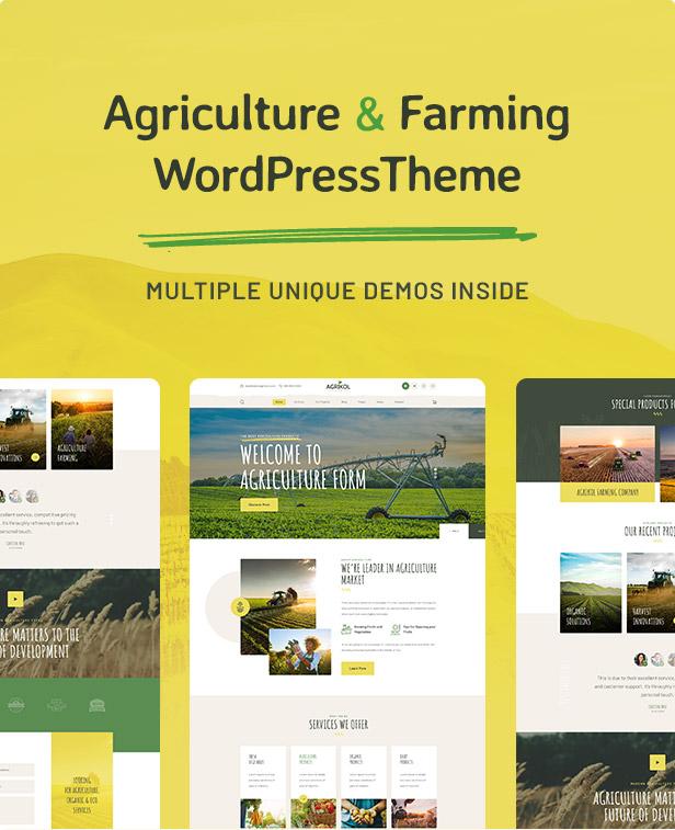 Agrikole | Responsive WordPress Theme for Agriculture & Farming - 5
