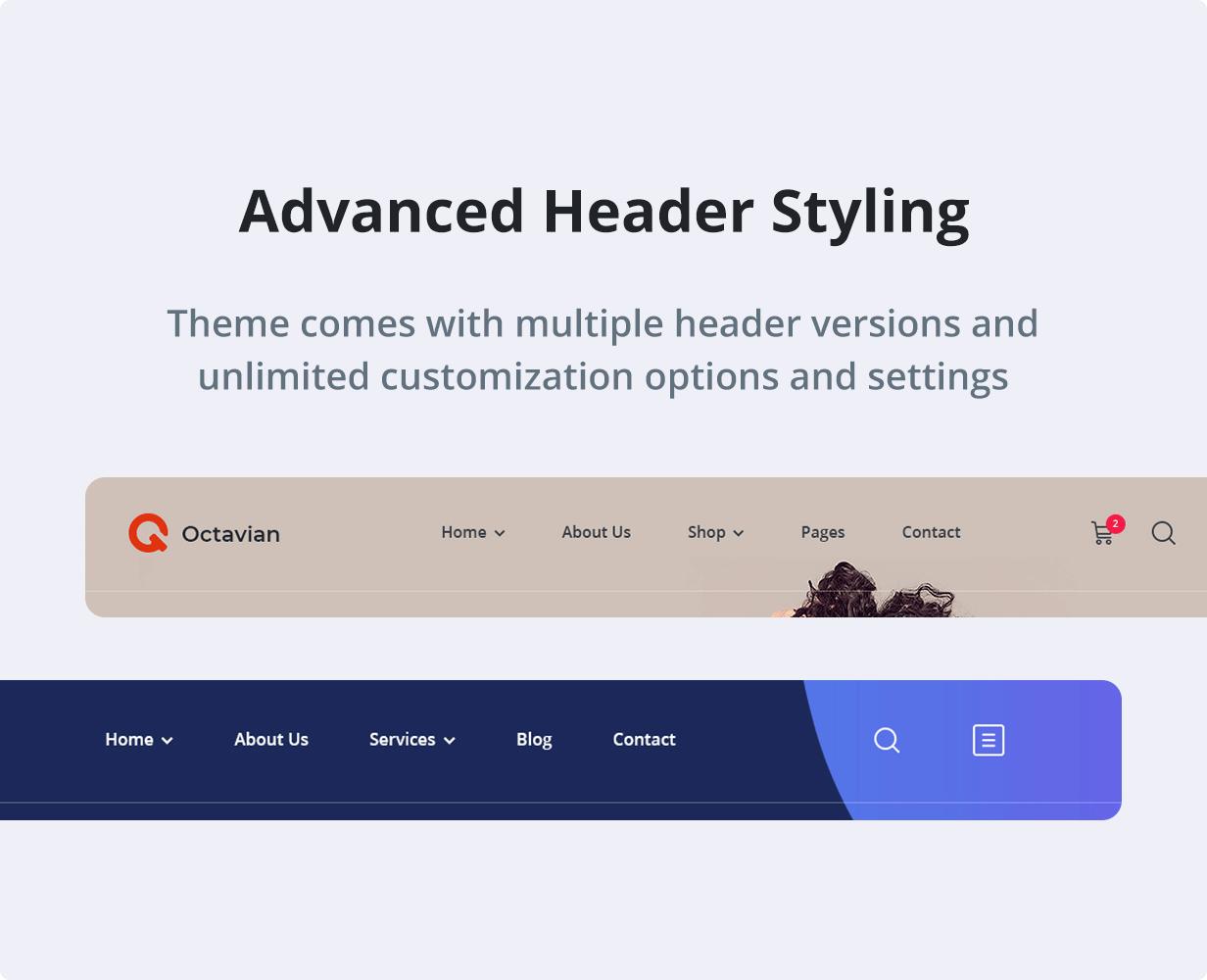 Octavian   Creative Multipurpose WordPress Theme - 7