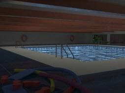 Swimming Pool - 3DMax