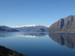 Des lacs où se reflètent parfaitement le paysage.
