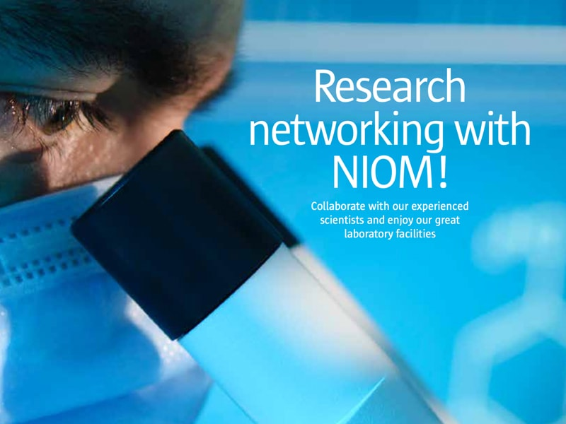 Research networking with NIOM!
