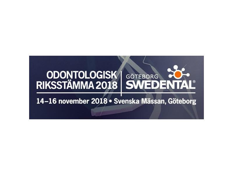 NIOM at Riksstämman and Swedental 2018