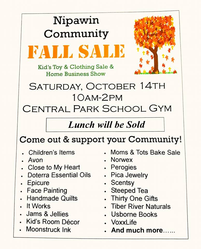 Nipawin Community Fall Sale