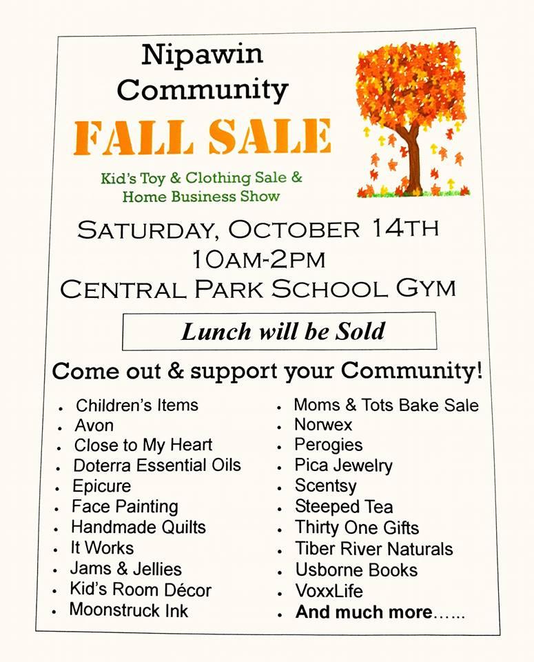 Nipawin Community Fall Sale