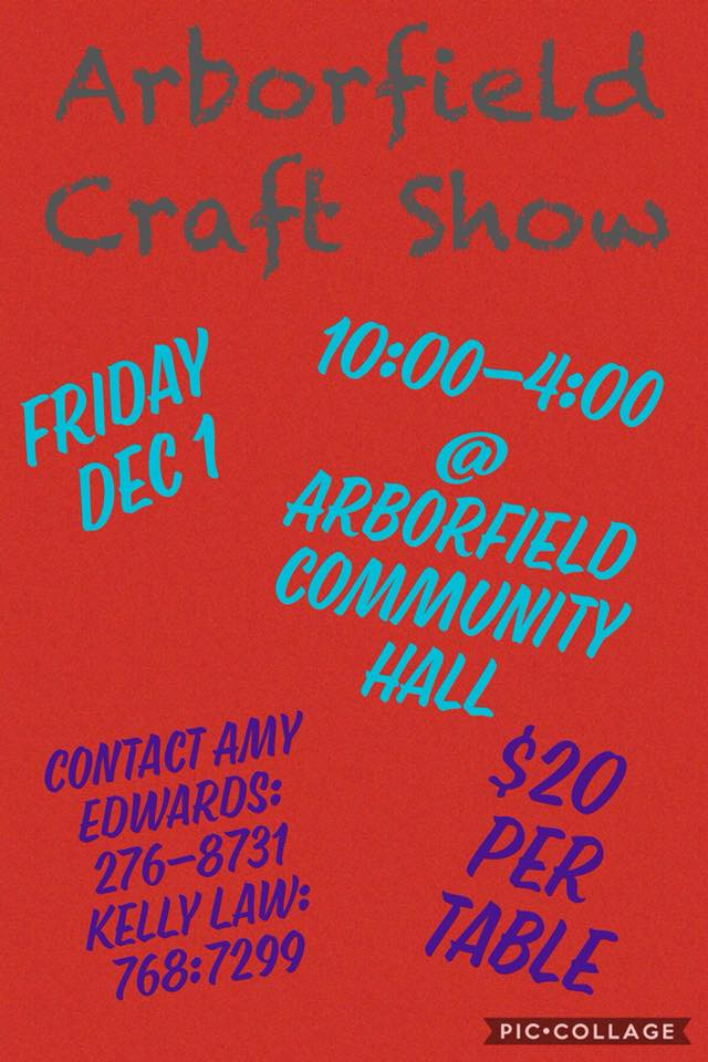 Arborfield Craft Show