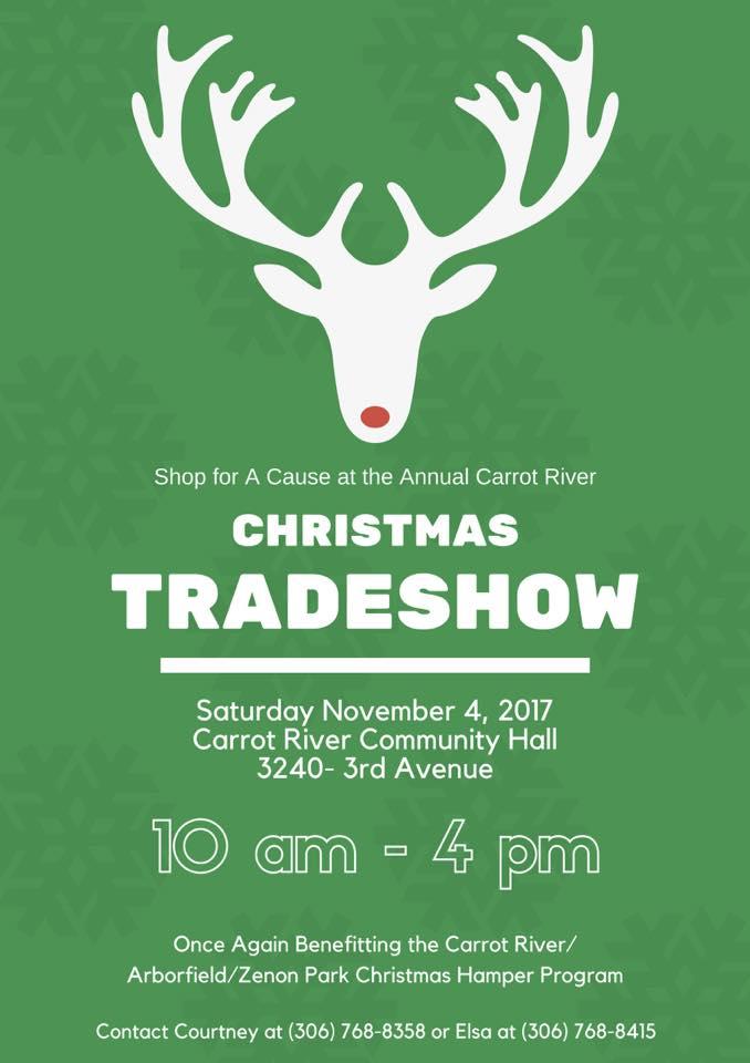 Christmas Tradeshow - Carrot River