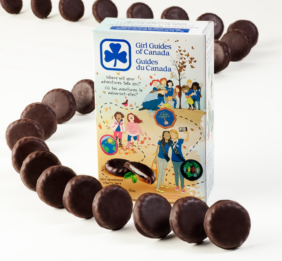 Girl Guide Cookie Drive Thru