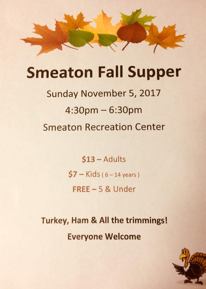 Smeaton Fall Supper