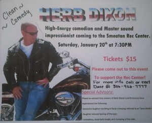 Comedian Herb Dixon coming to the Smeaton Rec Center