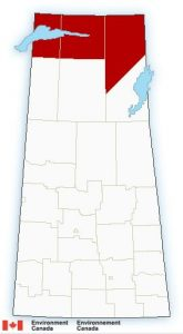 Environment Canada Snowfall warning for Northern Saskatchewan