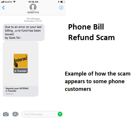 Phone Bill Refund Scam - Saskatoon Police Service