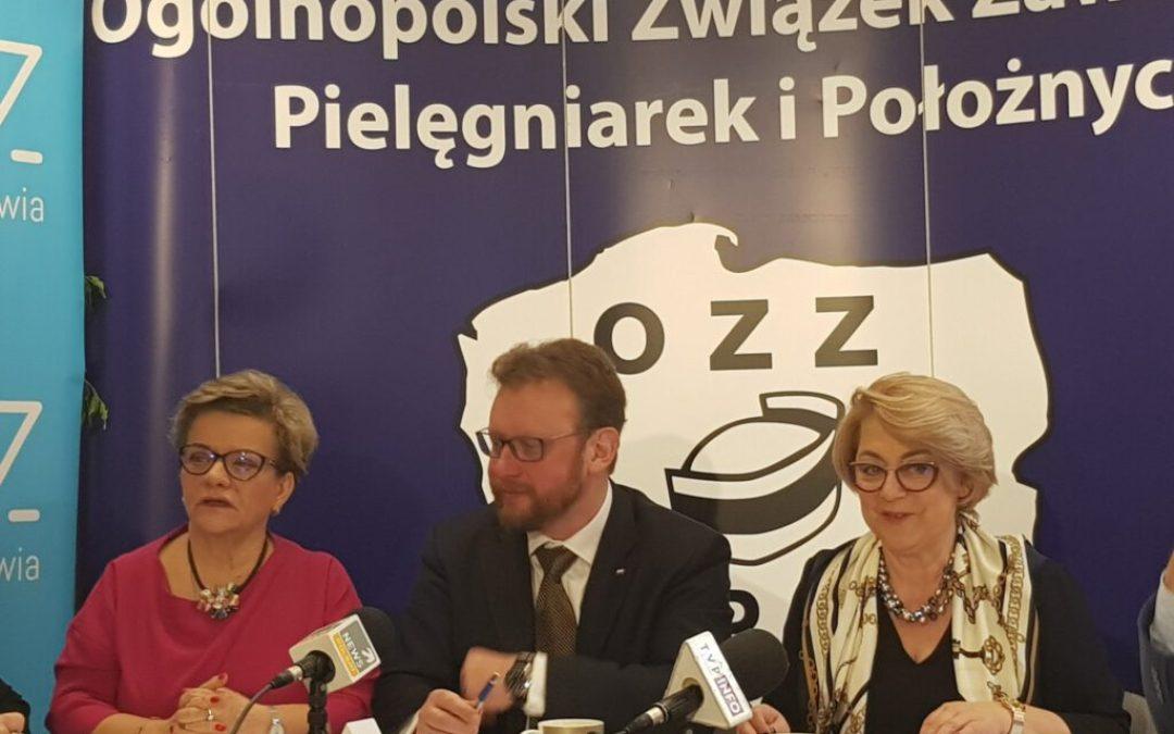 Spotkanie robocze Przedstawicieli Pielęgniarek i Położnych z Ministrem Zdrowia w sprawie Strategii – 2018.01.26