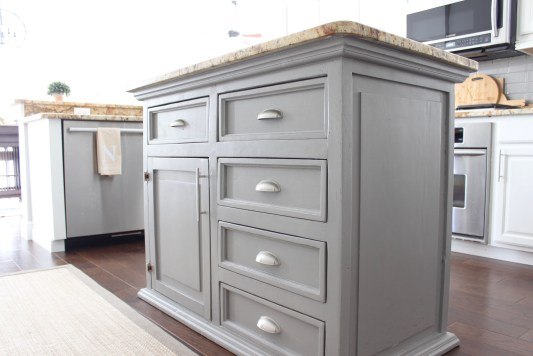 Island painted Dovetail