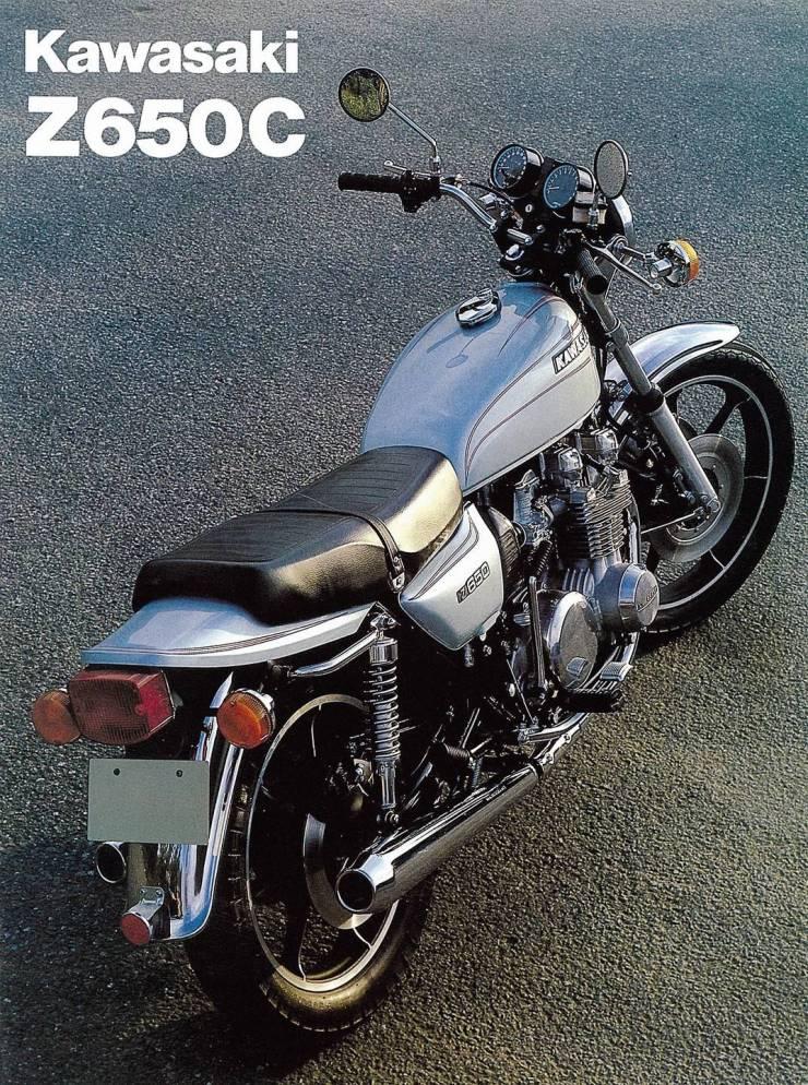 Kawasaki-Prospekt Z650C