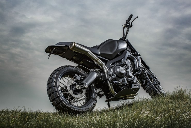 XSR900 'Monkeebeast' von Wrenchmonkees