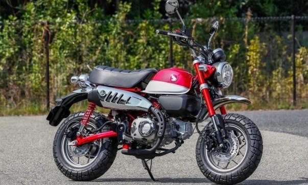 Das legendäre Mini-Motorrad kehrt als Monkey 125 erstarkt zurück