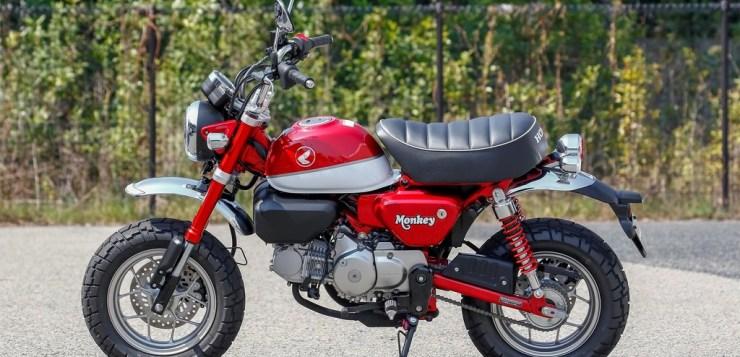 Die Honda Monkey 2018 kommt mit 125 ccm Motor
