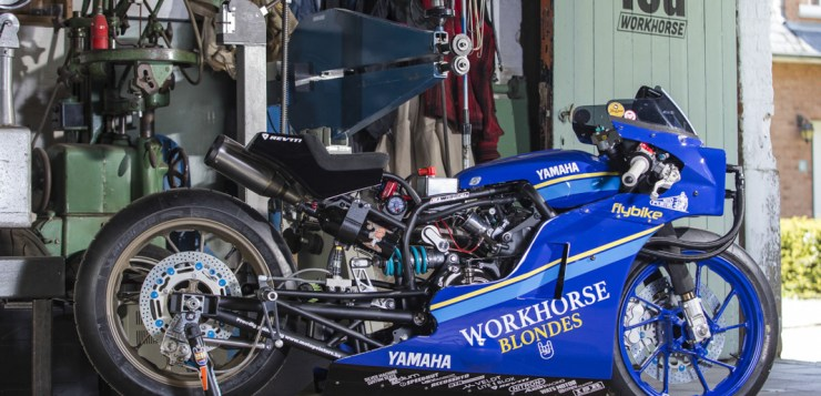 Yamaha XSR700 Workhorse Shop