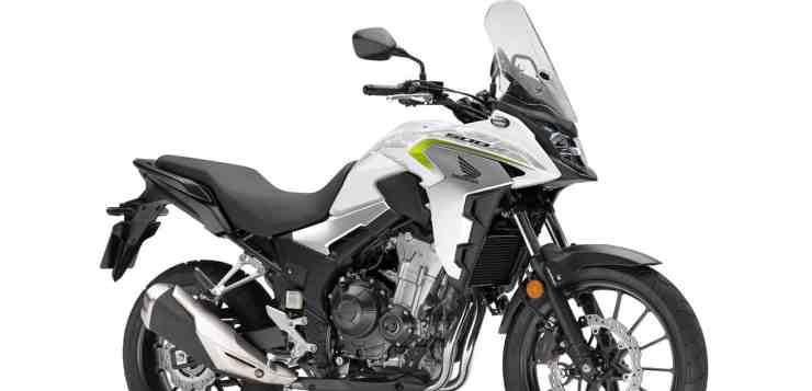 CB 500X in Pearl Metalloid White...