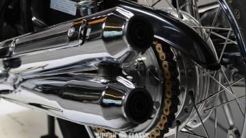 Motorradketten sind extremen mechanischen Belastungen ausgesetzt