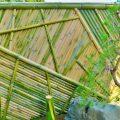 竹垣の作り方と苔貼り 〜日本庭園(枯山水・石庭)の作り方 その4〜