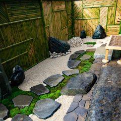 小さな日本庭園