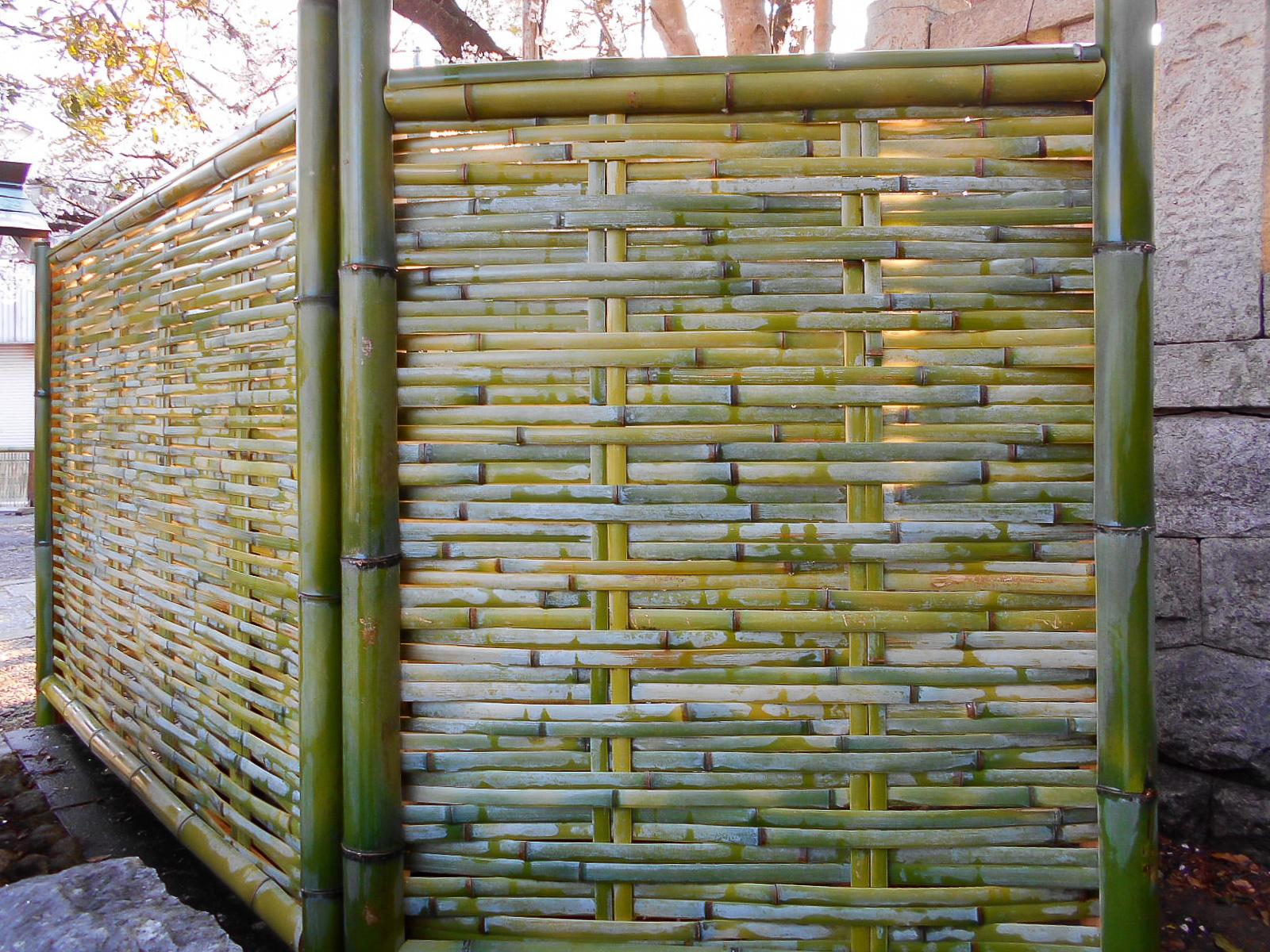大津垣の作り方