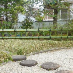 金閣寺垣の作り方