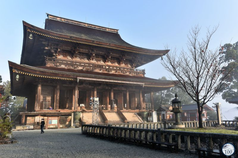 Yoshino - Kinpusenji temple