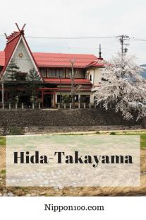 Hida-Takayama et ses cerisiers par Nippon100