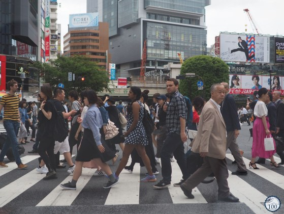 Conduire au Japon - Shibuya Crossing