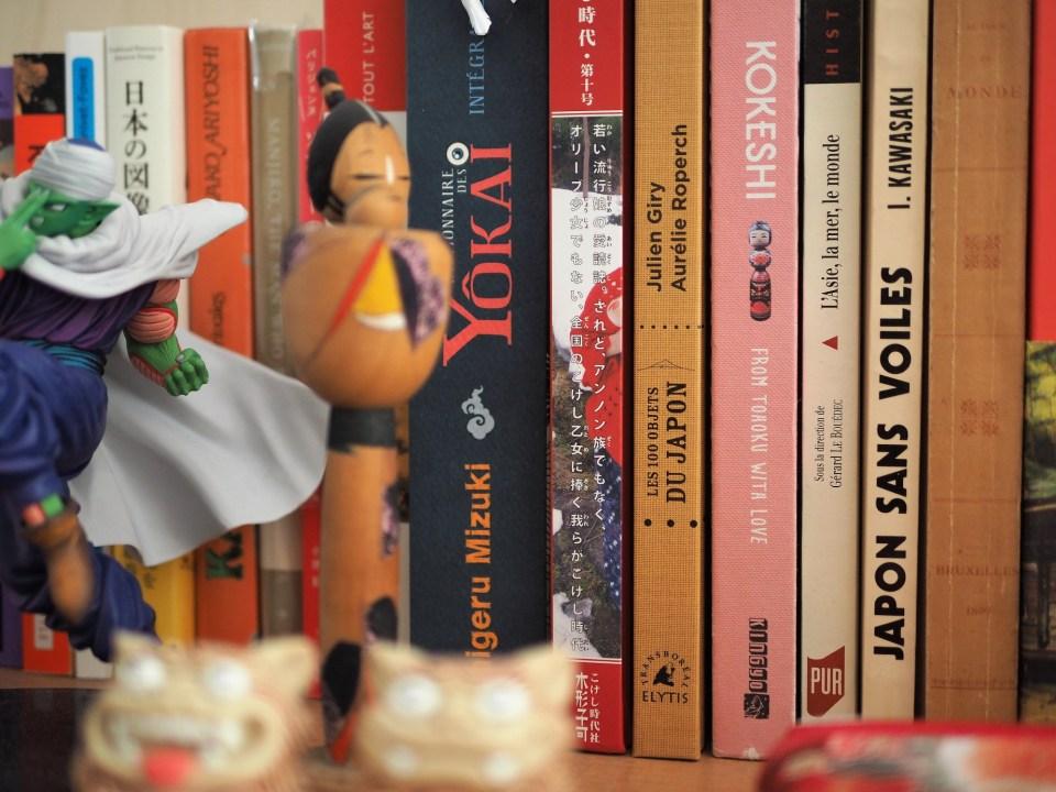 livres cent objets figurines