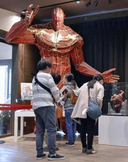 """متحف هيتا الخاص بمانغا """"Attack on Titan""""   عبر كيودو"""