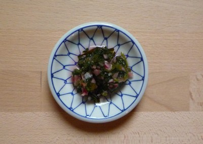 HATSUKADAIKON NO HA ZUKE – Eingelegte Blätter von Radieschen