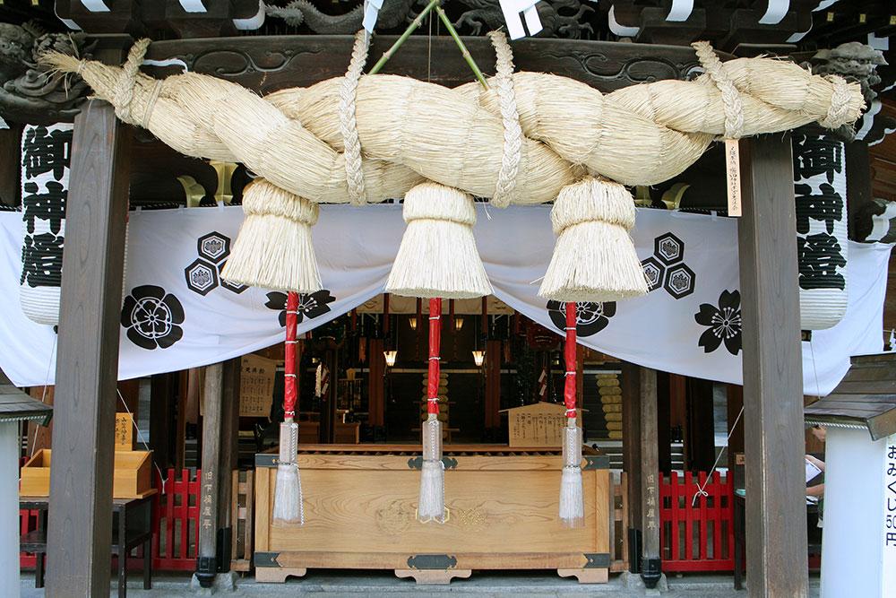Kushida Jinja – der älteste Shinto-Schrein in Fukuoka