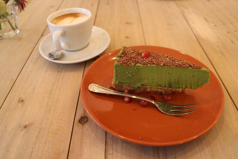Kame Matcha Cheesecake
