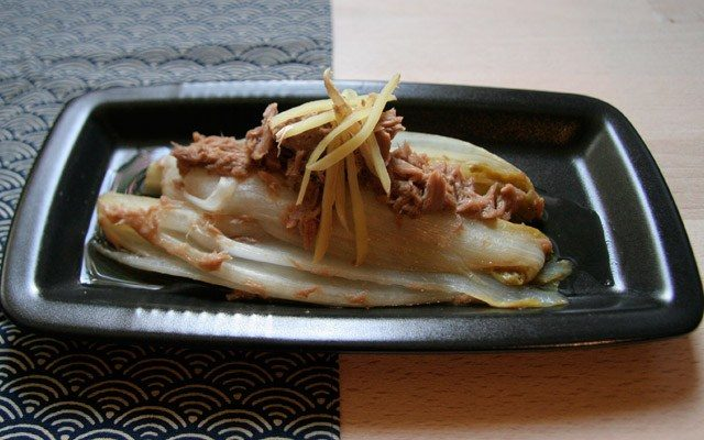 CHIKORI NO TSUNA NI - Chicoree mit Thunfisch