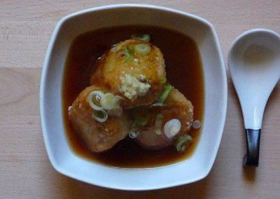 AGEDASHI DAIKON MOCHI – frittierter Rettichkuchen