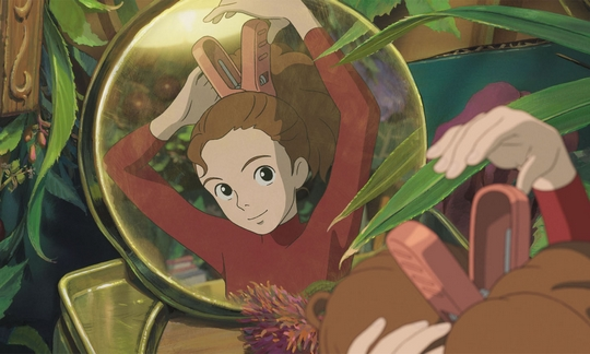 Arrietty le petit monde des chapardeurs, Ghibli, Japanime, Hayao Miyazaki, Will Arnett, Moises Arias, Tom Holland, Karigurashi no Arrietty,